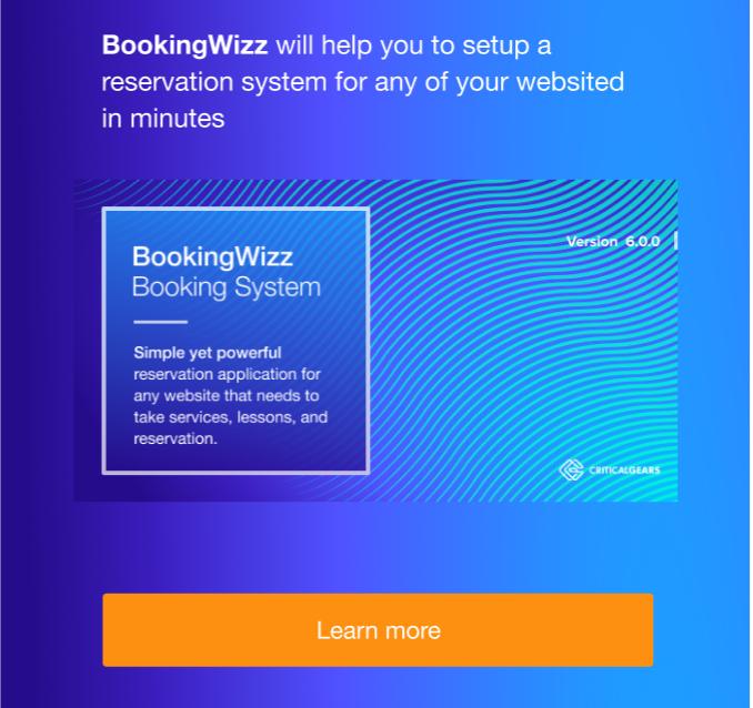 BookingWizz for WordPress - 2