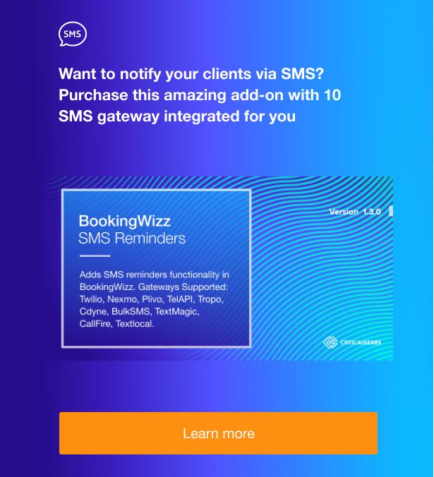 BookingWizz for WordPress - 4