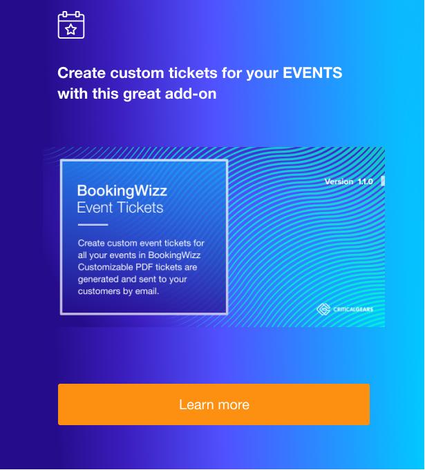 BookingWizz for WordPress - 5