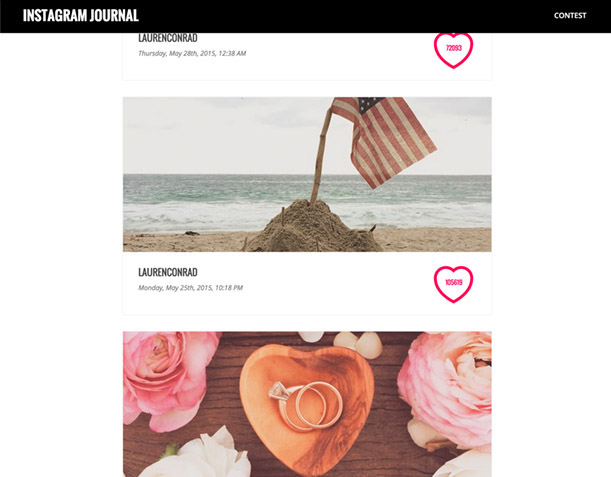 Instagram Journal - 6