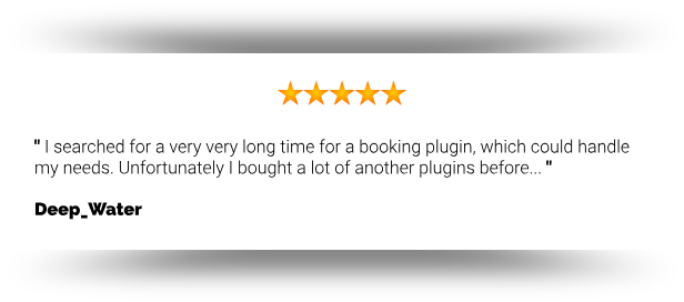 Webba Booking - WordPress Appointment & Reservation plugin - 5
