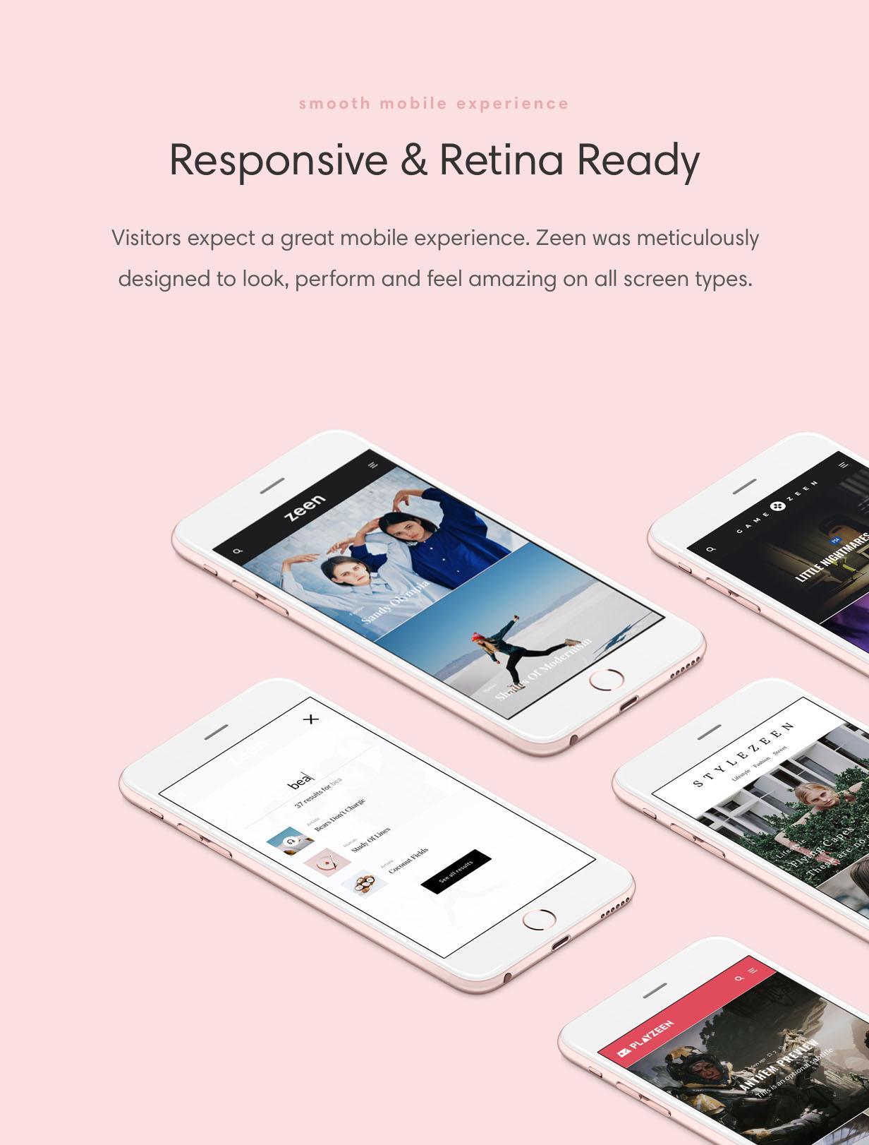 Zeen is a responsive WordPress theme