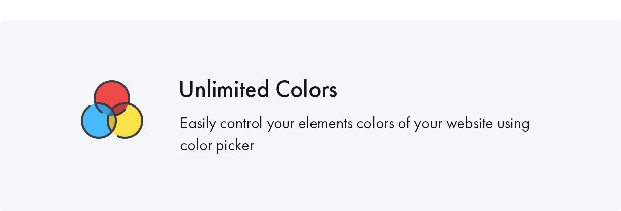 Konte WordPress theme is unlimited colors