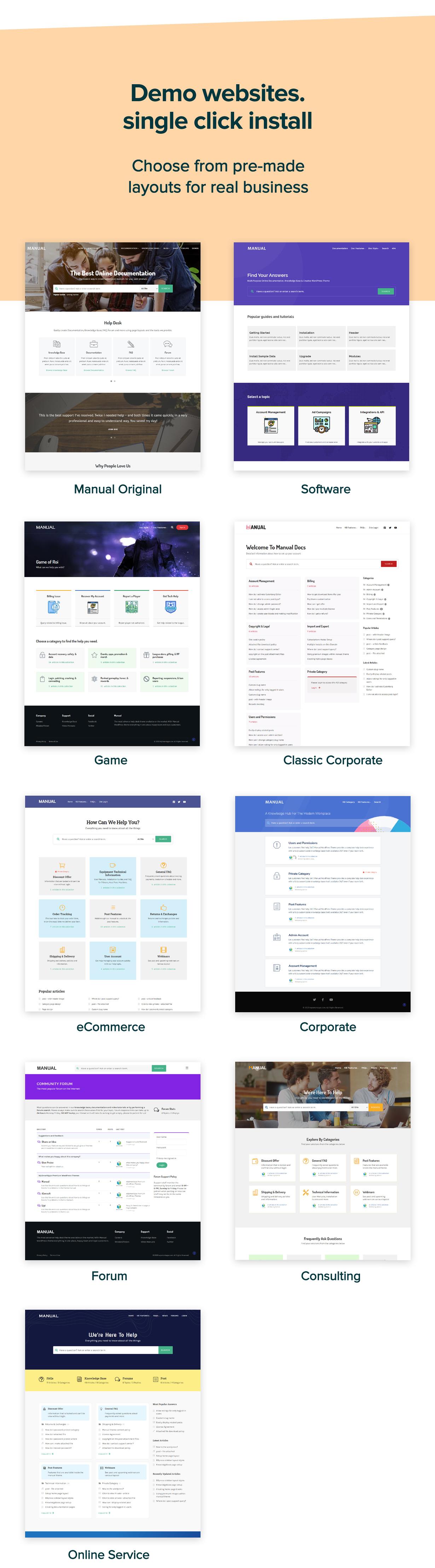 Manual - Multi-Purpose Online Documentation, Knowledge Base & Creative WordPress Theme - 6
