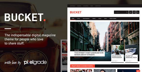 BUCKET - A Digital Magazine Style WordPress Theme