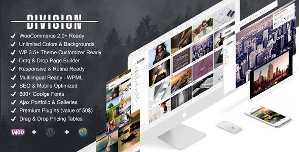 Division - Fullscreen Portfolio Photography Theme