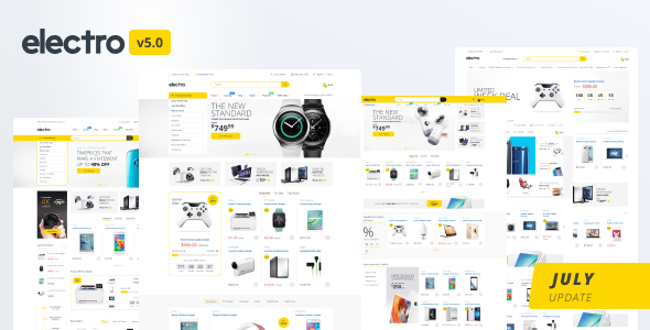 Electro 5.0 - Gadgets & Digital Responsive Shopify Theme