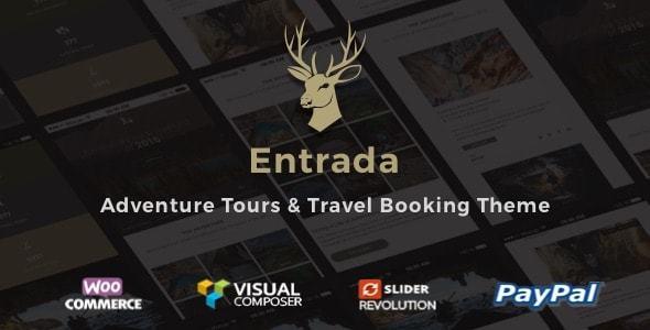 Entrada Tour Travel Booking WordPress Theme
