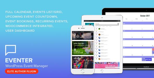 Eventer - WordPress Event Manager Plugin