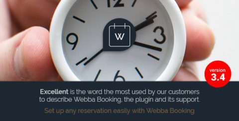 Webba Booking - WordPress Appointment & Reservation plugin
