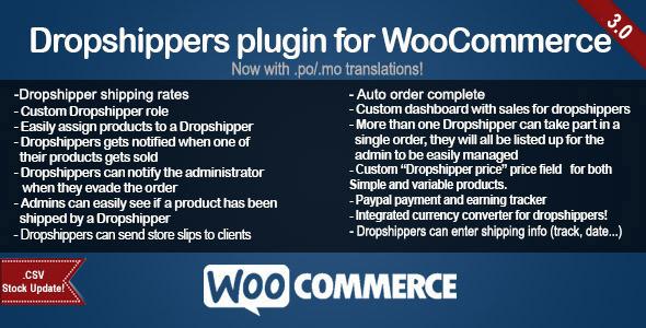 WooCommerce Dropshippers