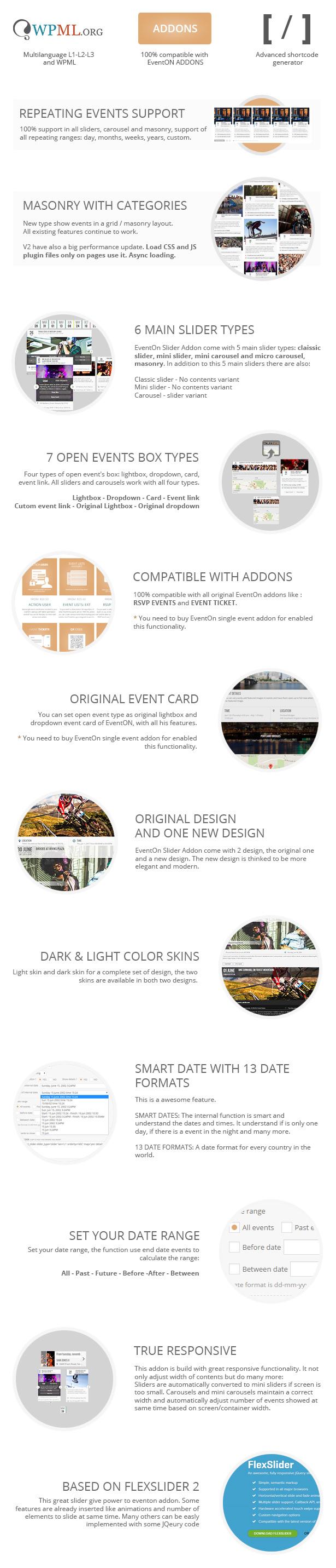 EventOn Slider Addon   Events - 1