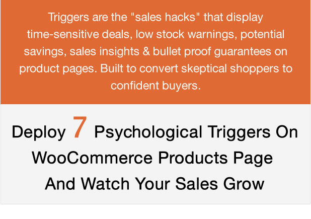 XL WooCommerce Sales Triggers - 1