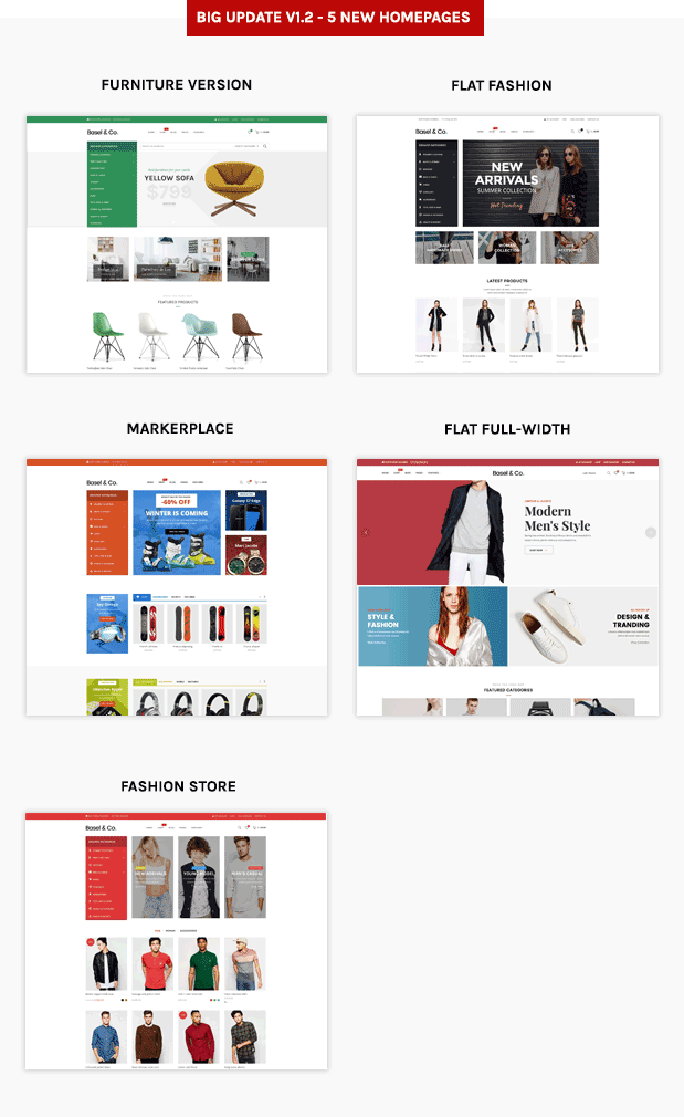 Basel - Multipurpose Ecommerce Shopify Theme - 5