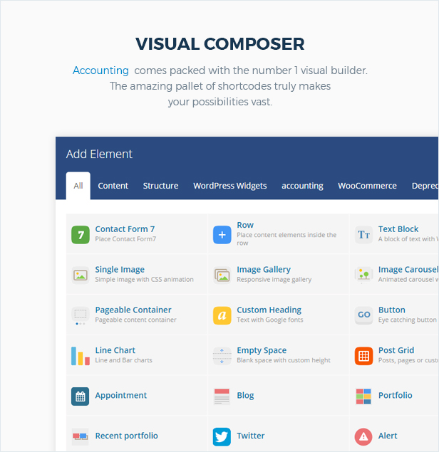 Accounting - Business, Consulting and Finance WordPress theme - 7
