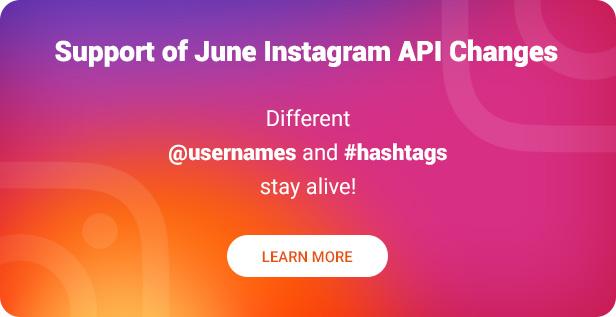Instagram Widget – WordPress Instagram Widget - 2