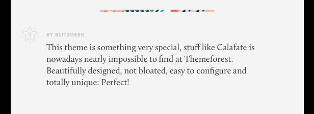 Calafate - Portfolio & WooCommerce Creative WordPress Theme - 15