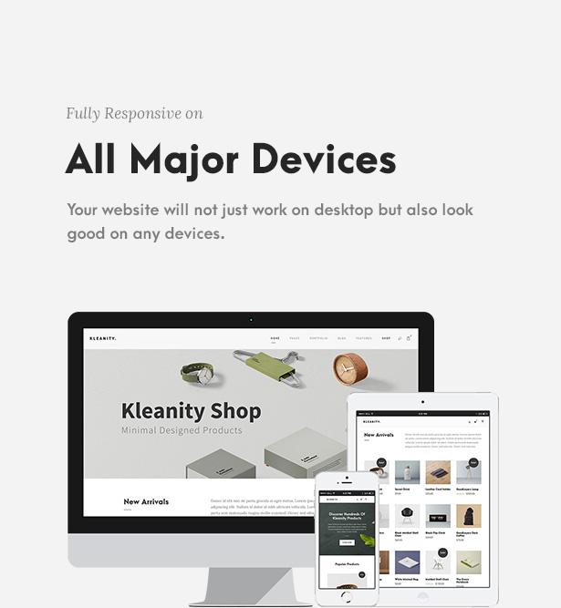 Kleanity - Minimalist WordPress Theme / Creative Portfolio - 7