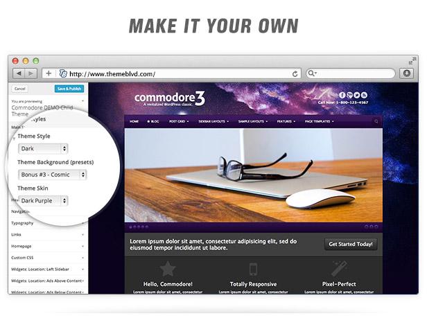 Commodore Responsive WordPress Theme - 8