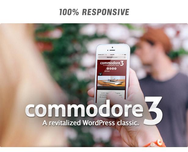 Commodore Responsive WordPress Theme - 7