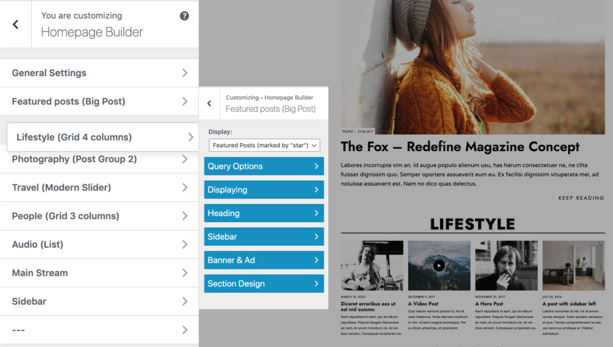 Page Builder WP Theme