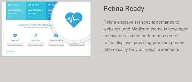 Retina Ready Medicine Theme