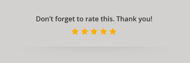 Don't Forget To Rate!