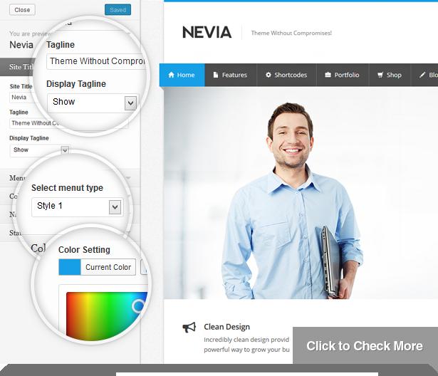 Nevia - Responsive Multi-Purpose WordPress Theme - 6