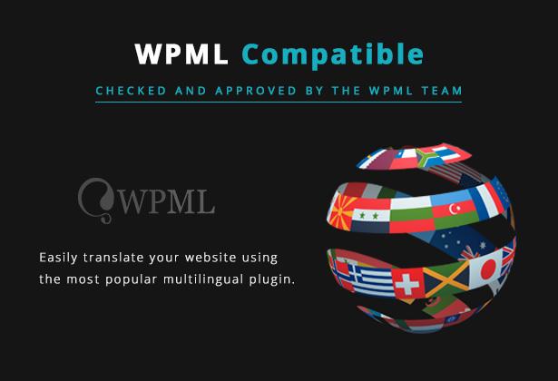 Lucille Music WordPress Theme - WPML Compatible Theme