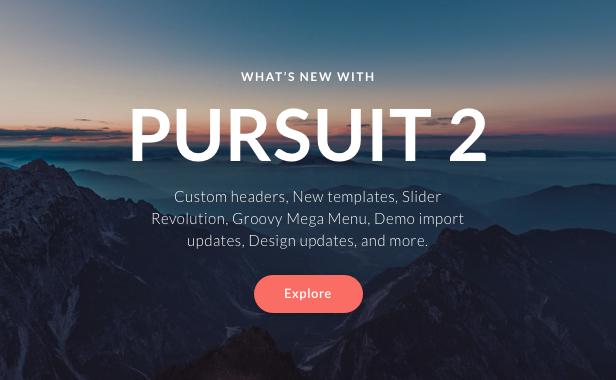 Pursuit - A Flexible App & Cloud Software Theme - 1