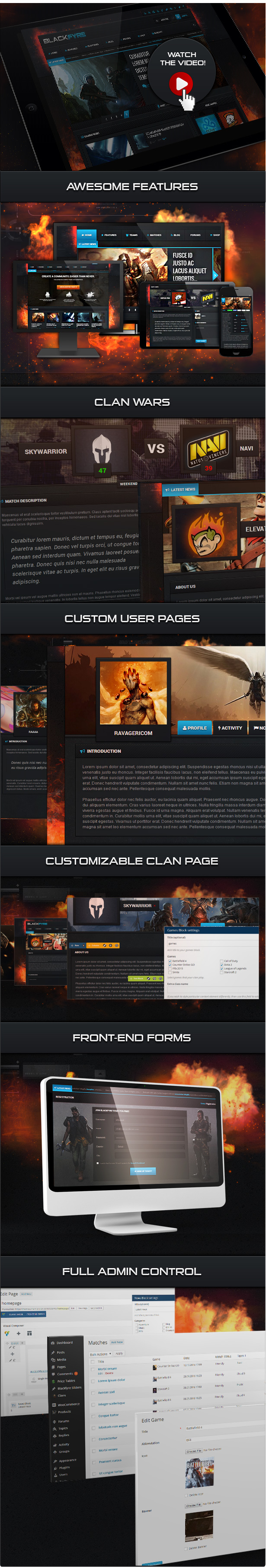 Blackfyre - Create Your Own Gaming Community - 1