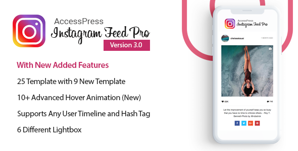 AccessPress Instagram Feed Pro - WordPress Responsive Instagram Feeds Plugin