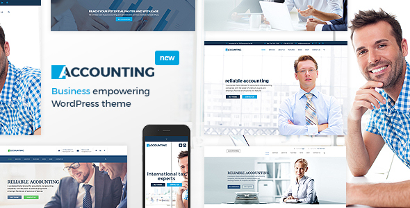 Accounting - Business, Consulting and Finance WordPress theme