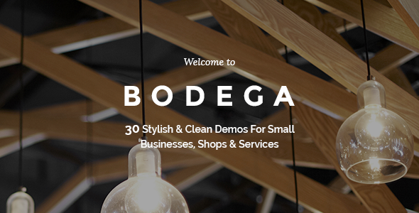 Bodega - Small Business Theme
