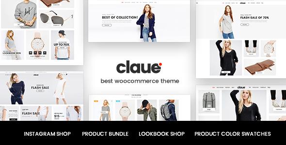 Claue - Clean, Minimal Elementor WooCommerce Theme