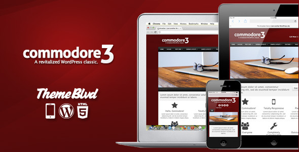 Commodore Responsive WordPress Theme