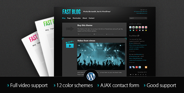 Fast Blog