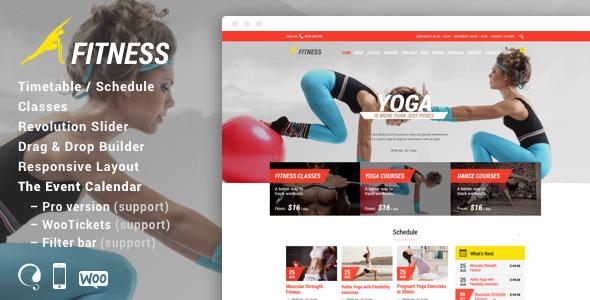 Gym - Fitness WordPress