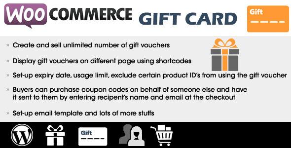 WooCommerce Gift Card
