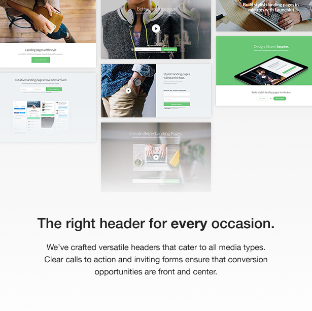 Launchkit Landing Page & Marketing WordPress Theme - 7