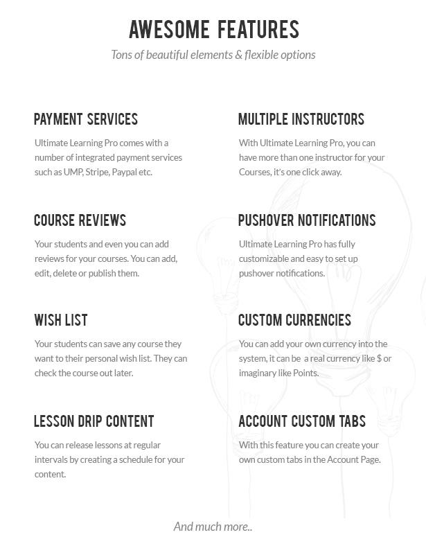 Ultimate Learning Pro WordPress Plugin - 3
