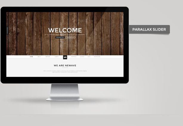 Newave - Responsive One Page Parallax Template - 5