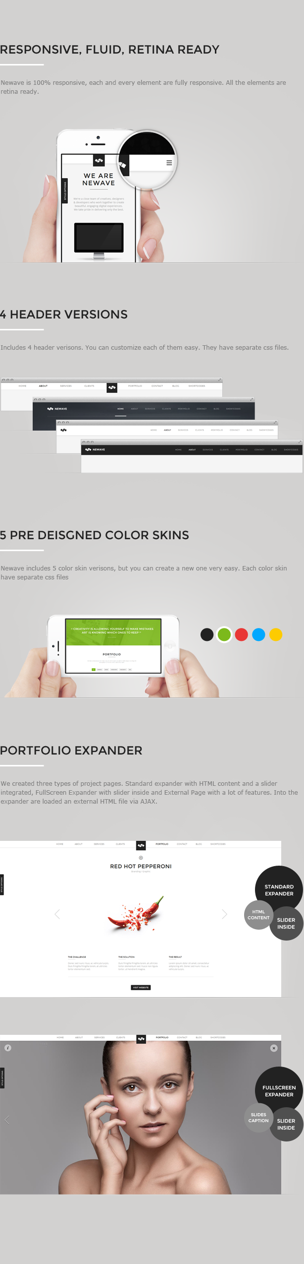 Newave - Responsive One Page Parallax Template - 11