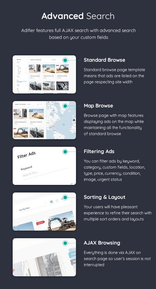 Adifier - Classified Ads WordPress Theme - 15
