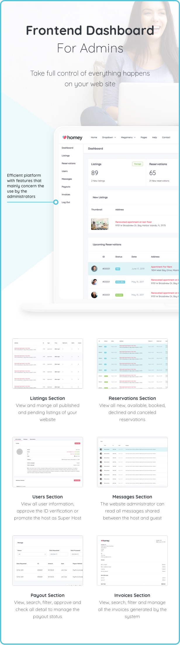 Homey - Booking and Rentals WordPress Theme - 11