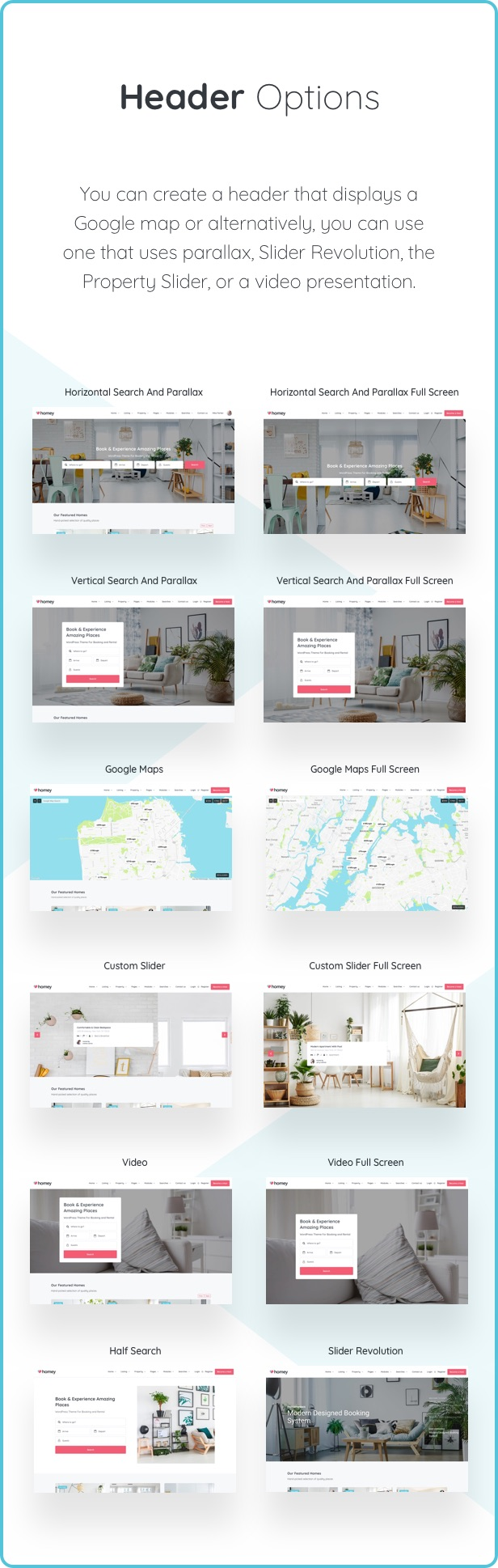 Homey - Booking and Rentals WordPress Theme - 15