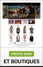 PrestaShop Boutiques