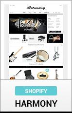 Shopify Harmony