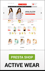 PrestaShop Actiwear