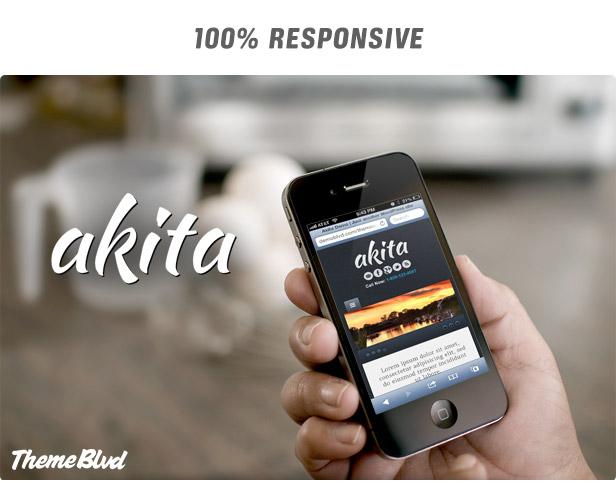Akita Responsive WordPress Theme - 6